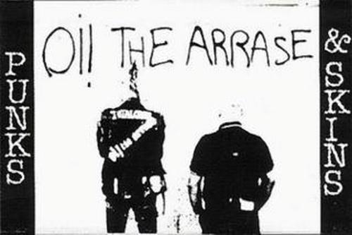 oi the arrase punks skins