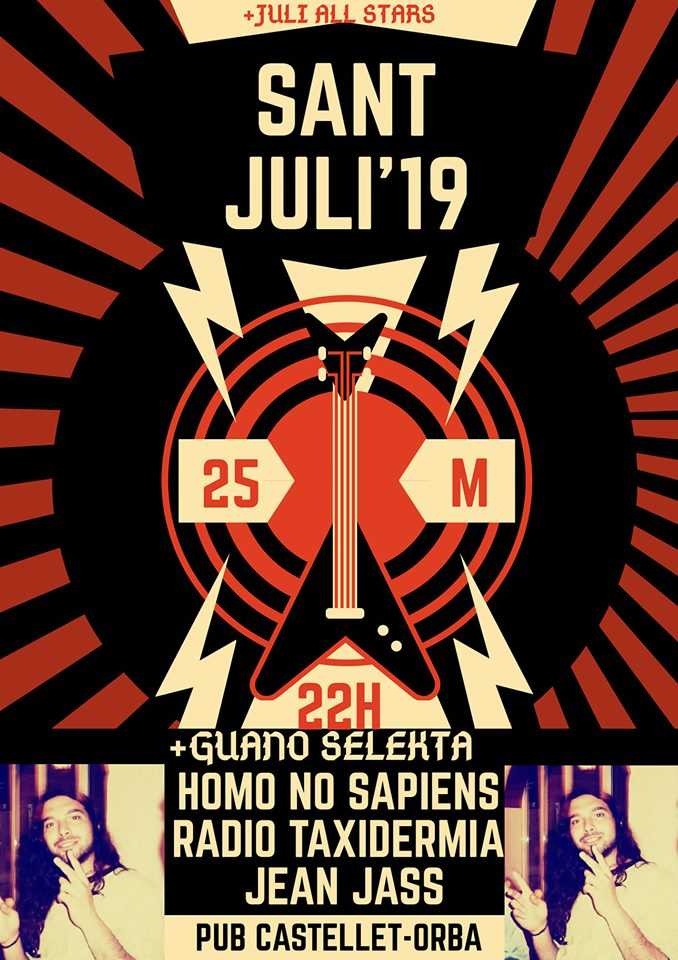 RACó MUSICAL: Arriba la tercera edició del 'Sant Juli', l'homenatge a Jose Julio Sendra Mut